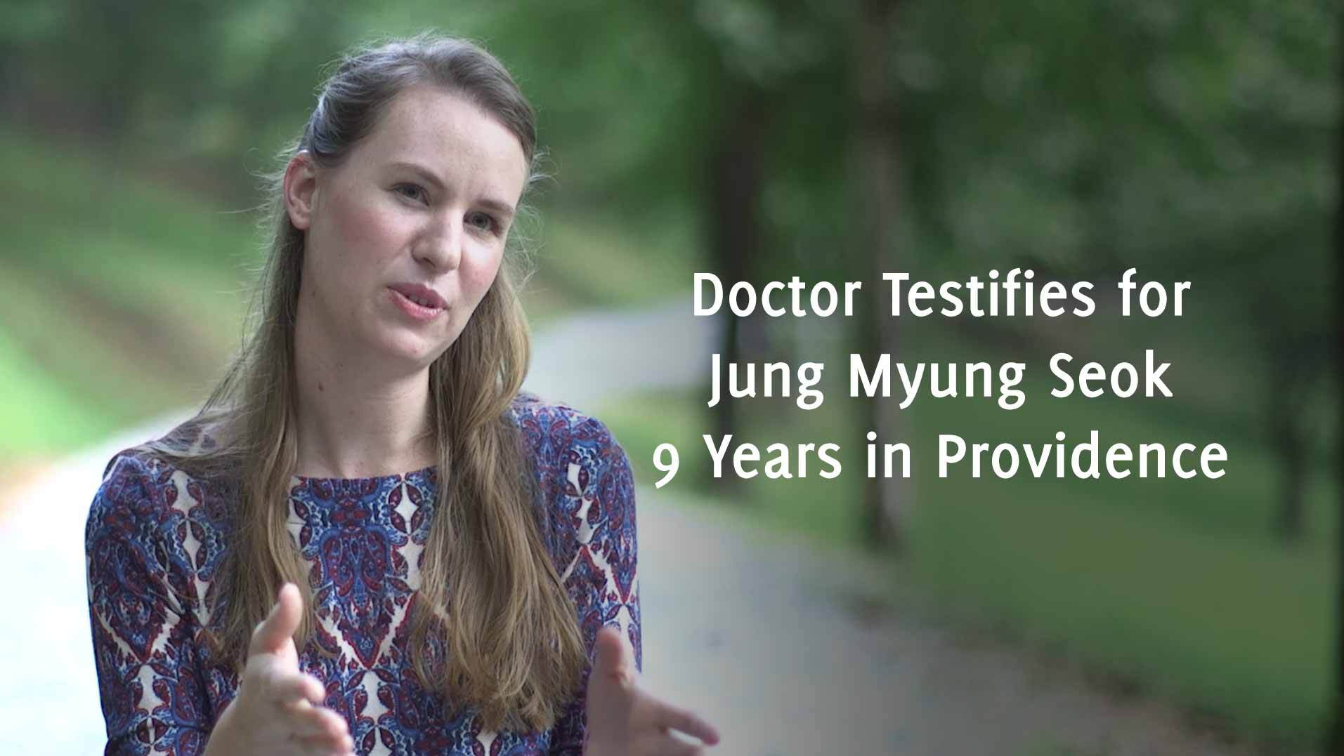 Doctor Testifies for Jung Myung Seok: 9 Years in Providence Church